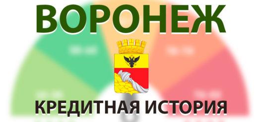 Кредитная история в Воронеже. Бесплатно